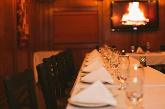 La Casa d'Italia Ristorante: Private Dining Room (Photo by Svetlana Yanova)