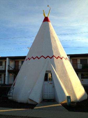 Wigwam Motel: My wigwam