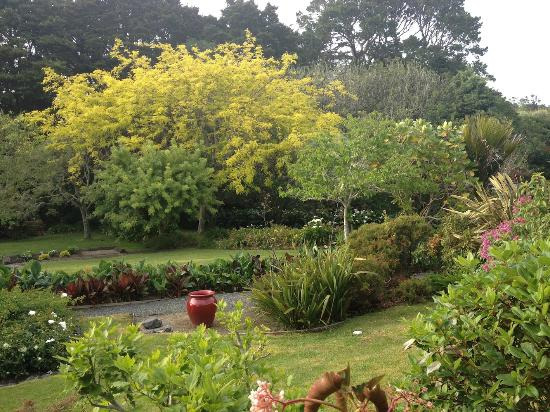 Warkworth Country House: the garden