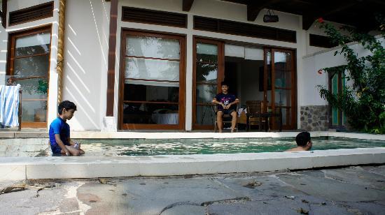 Novus Giri Resort & Spa: Our room