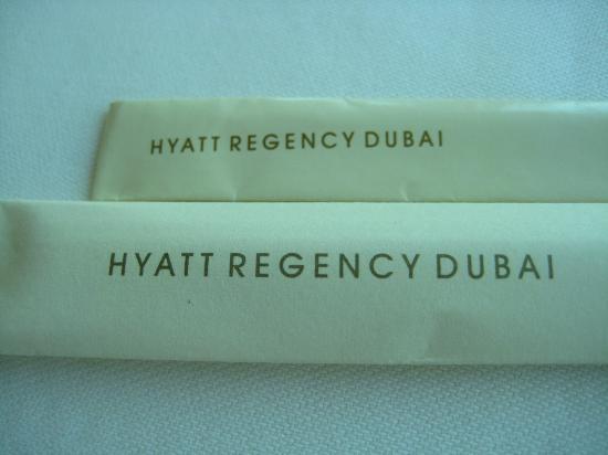 Focaccia - Hyatt Regency Dubai: we were there