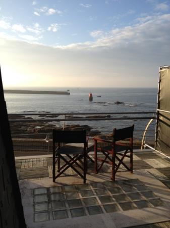 Le Poisson d'Avril : vue sur mer