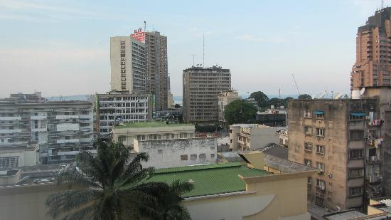 Hotel Memling: Kinshasa as you see it from the room window