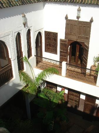 Riad Pachavana: chambre à l'étage
