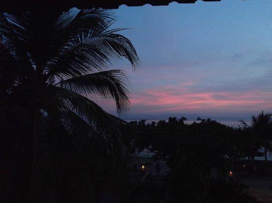 Puri Bagus Candidasa: Sunset