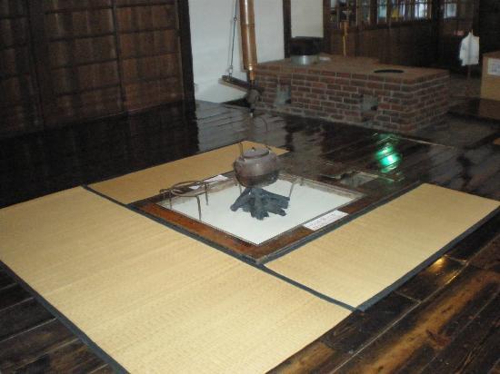 Shayokan - Osamu Dazai Memorial Hall: 囲炉裏の間