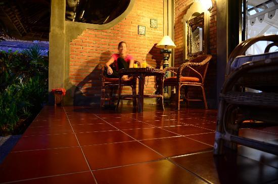 Bunga Permai Hotel: The room's terrace