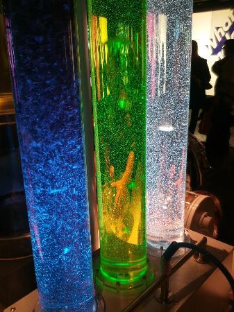 Science Museum: Fluids with various densities