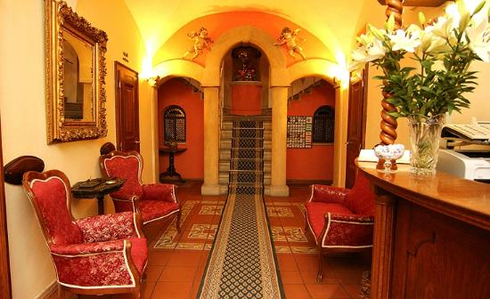Hotel U Krale Karla (King Charles) : Reception