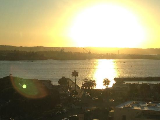 Manchester Grand Hyatt San Diego: The view
