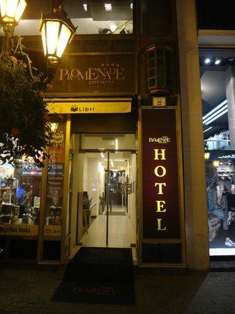 Promenade City Hotel: Entrada do Hotel