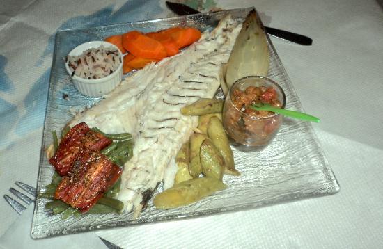 Bella Vista: Seafood dish, excellent quality