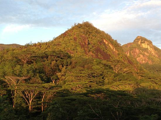 Villa Vanilla: la vue depuis notre chambre