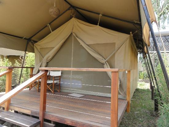 Wildebeest Eco Camp: Deluxe Tent