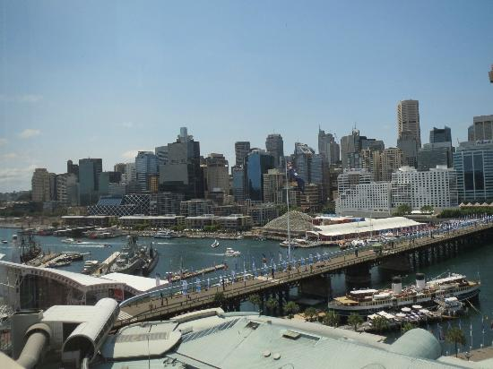 Ibis Sydney Darling Harbour: Vue sur le port