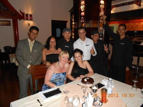 White Elephant Thai Resturant: Chloe's Birthday Meal In The White Elephant