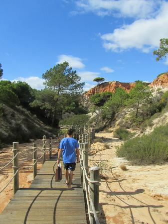 Sheraton Algarve Hotel: The walk to the beach