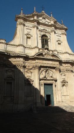 facciata della Chiesa di Sant'Irene
