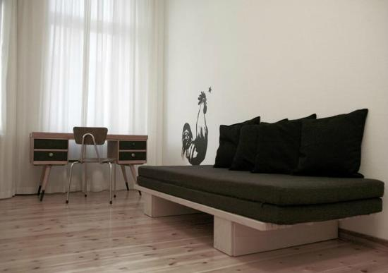 St. Oberholz Apartments: Small Bedroom