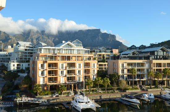Cape Grace: View from the room - Table Mountain