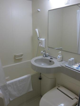 Comfort Hotel Kumamoto: 新奇的新房间和絕佳位置
