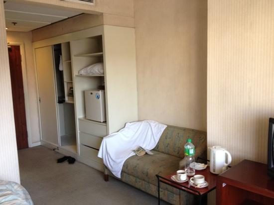 AIM Conference Center Manila: big room for an affordable price sorry for the mess