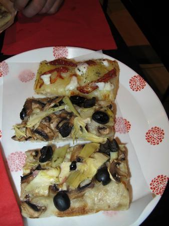 Pizza e fichi : artichauts et pommes de terre