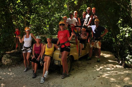 Selvatica Canopy Expedition and Adventure Tour: Our gang