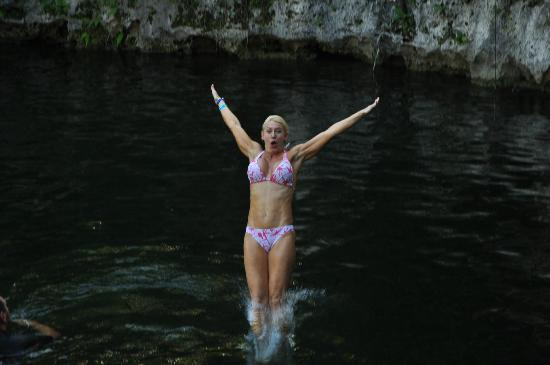 Selvatica Canopy Expedition and Adventure Tour: Zipline into a cenote