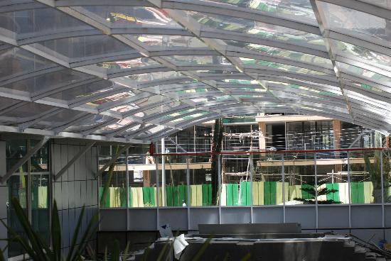Harmony Hotel: Swimming pool under construction