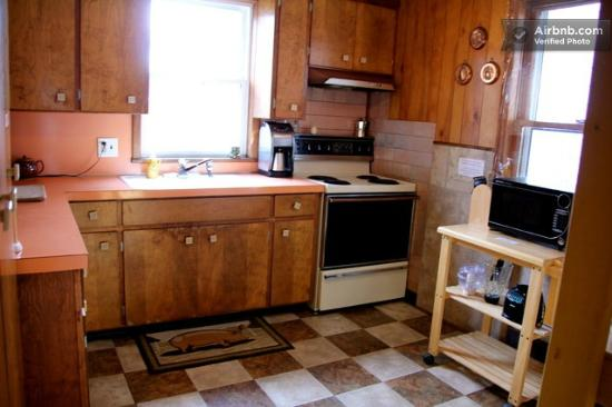 Wanderfalls Guesthouse & Hostel: Kitchen for the Guests - Fully Stocked