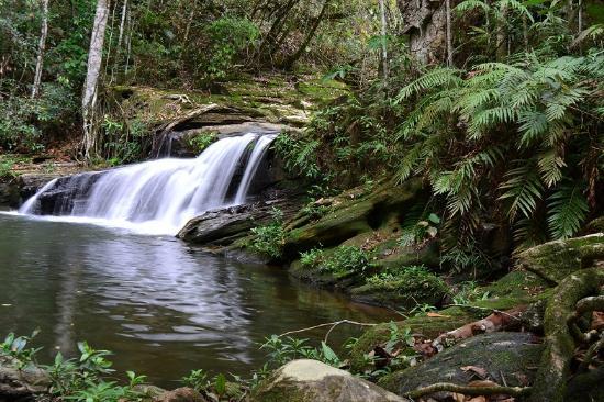 Pirenopolis, GO: Cachoeira do Landí ( no trajeto da maior trilha para o Abade )