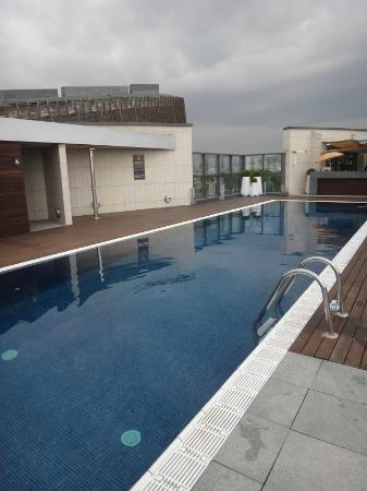 Pullman Barcelona Skipper: Roof pool