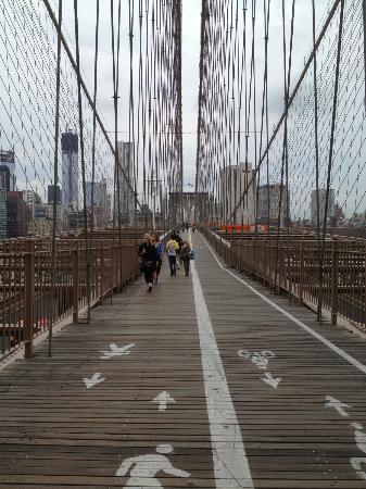 All New York Fun Tours : Le pont de Brooklyn