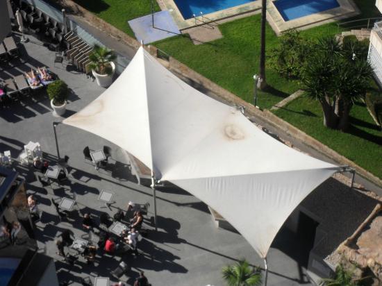 Sandos Monaco Beach Hotel & Spa: View from 1505