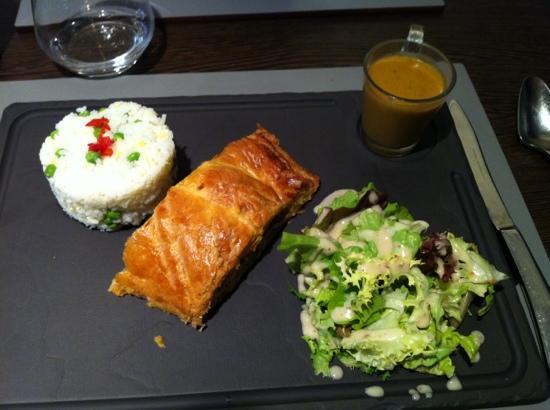 Les Cocottes Sarthoises: friand saumon