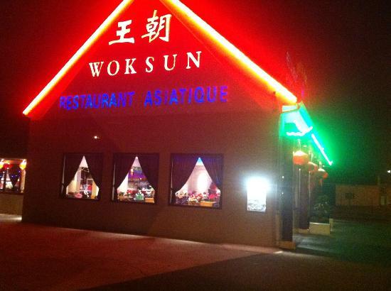 Wok Sun: zijkant