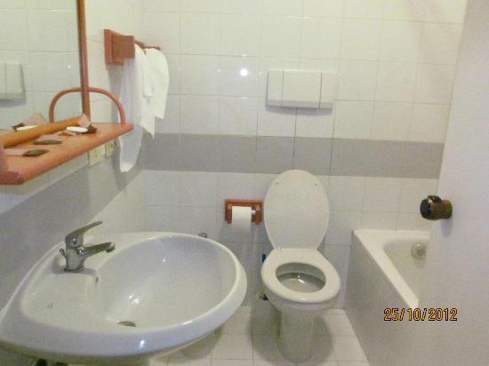 Arcadia Hotel: baño