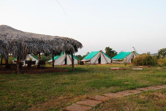 Andhra Pradesh, India: the english tents