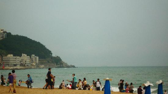Haeundae Beach: People