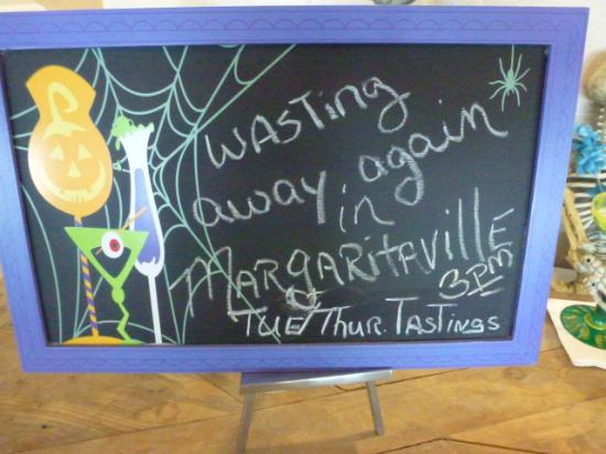 Margaritaville Beach Hotel: Notice board