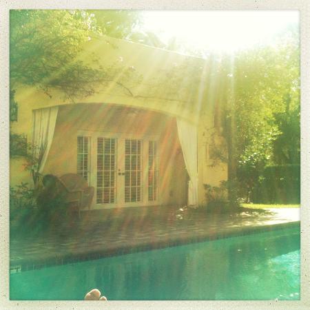 Grandview Gardens Bed & Breakfast: relaxing 