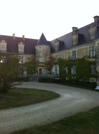 شاتوه دي لا كوت: Entrada do Chateau 