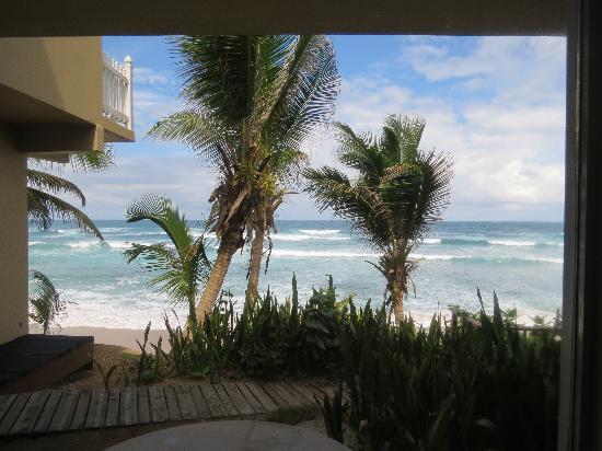 Ocean Front Hotel & Restaurant: Vista desde la habitación