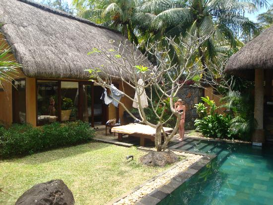 The Oberoi, Mauritius : Our villa with pool