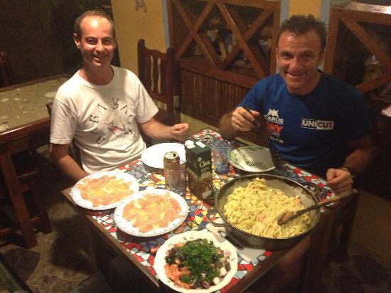 Hotel Guarana: la cena dell'ultima sera con Andrea