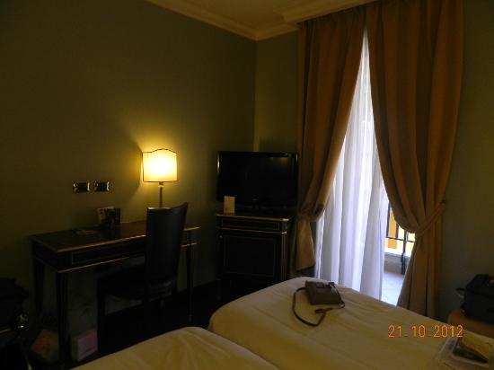 Trilussa Palace Congress & Spa: Twin room