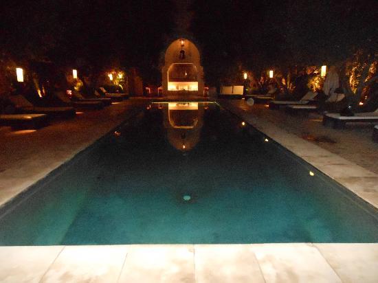 La Villa des Orangers - Restaurant : Villa des Orangers , la piscina