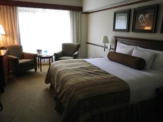 Hotel Alyeska: Zimmer
