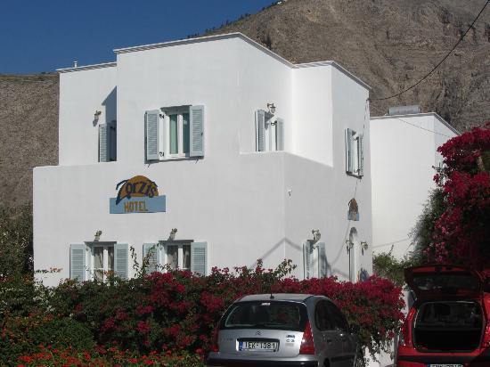 Zorzis Hotel: Front view